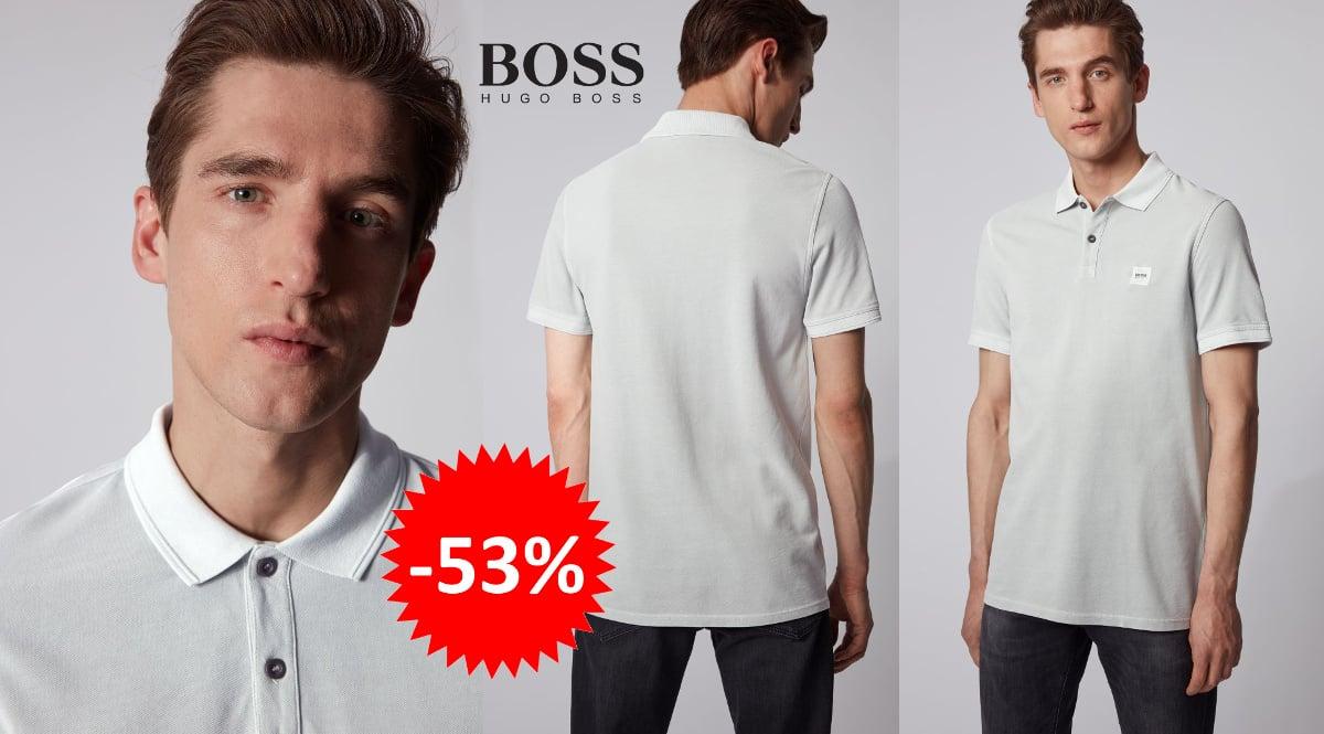Polo Hugo Boss Prime barato, ropa de marca barata, ofertas en polos chollo