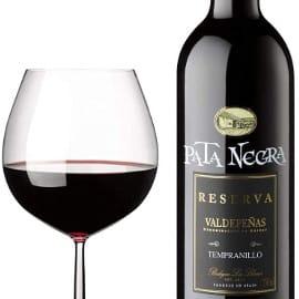 ¡¡Chollo!! Vino tinto Pata Negra D.O. Valdepeñas Reserva sólo 2.47 euros.