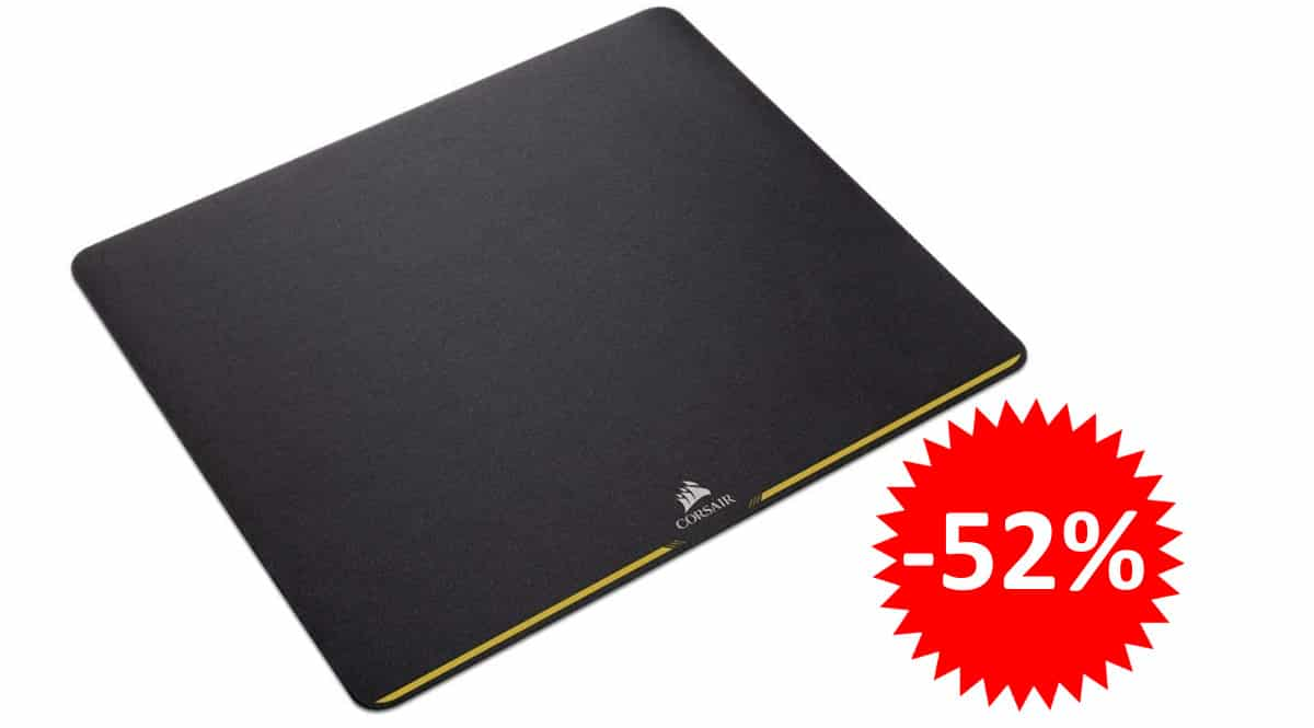 ¡Precio mínimo histórico! Alfombrilla gaming Corsair MM200, tamaño mediano, sólo 9.68 euros. 52% de descuento.