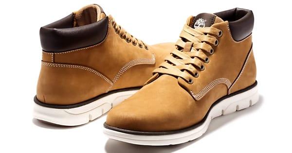 Botas de cuero Timberland Bradstreet baratas, calzado barato, ofertas en botas chollo