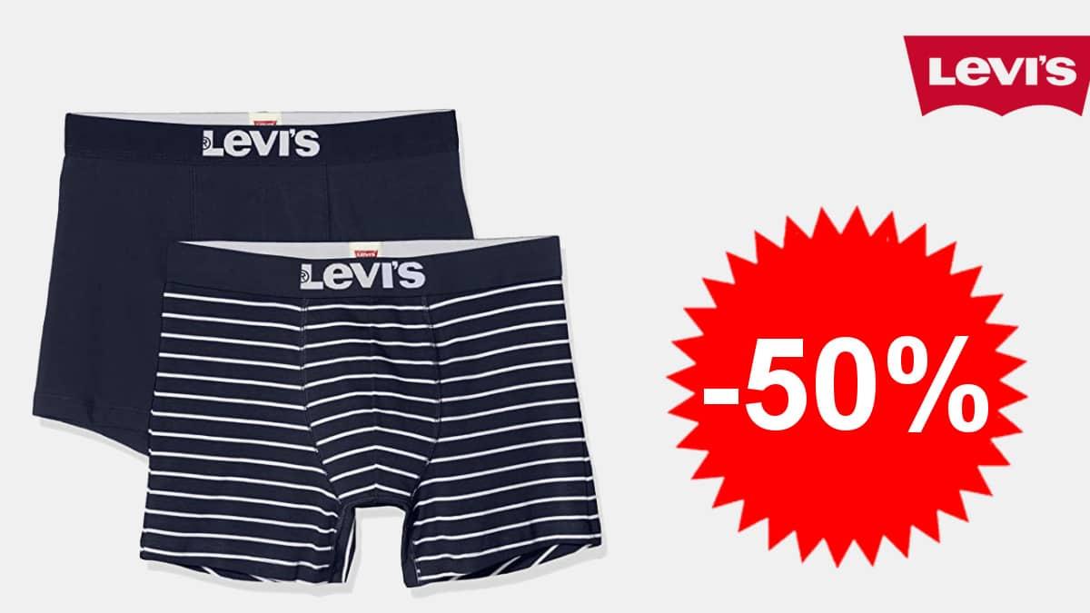 Calzoncillos Levis Men Vintage Stripe baratos, boxers de marca baratos, ofertas en ropa, chollo