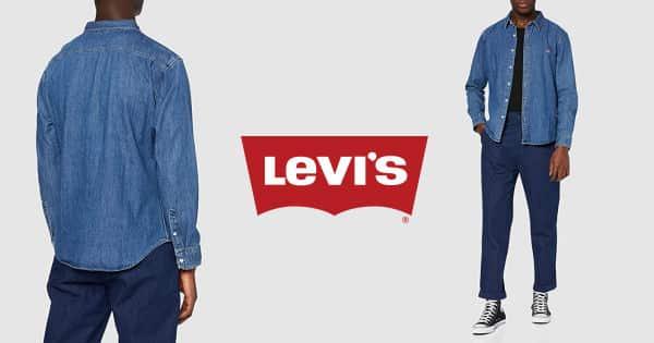 Camisa Levi's Housemark Slim barata, ofertas en camisas, ropa de marca barata, chollo