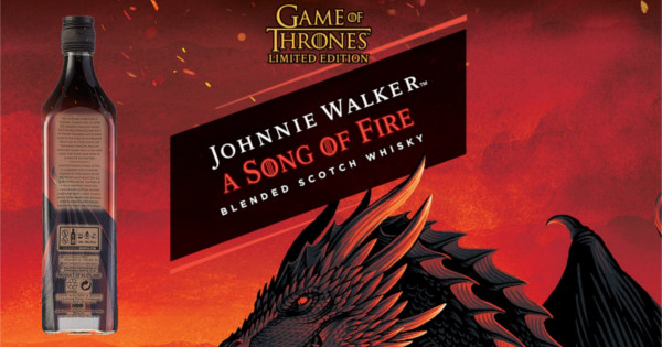 Whisky Johnnie Walker Song of Fire barato. Ofertas en whisky, whisky barato, chollo