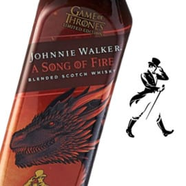 Whisky Johnnie Walker Song of Fire barato. Ofertas en whisky, whisky barato