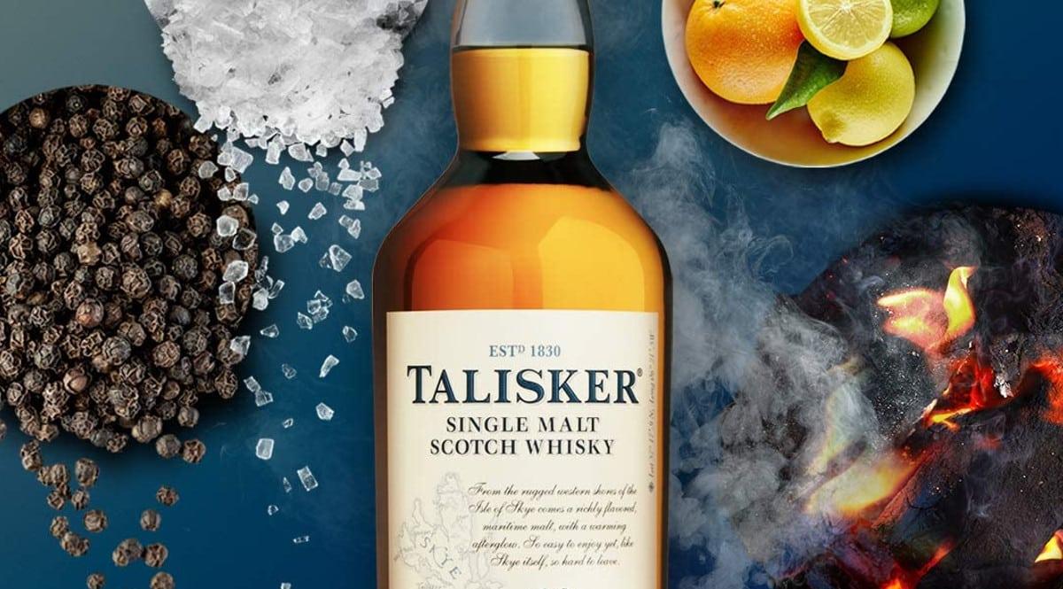 Whisky Talisker 10 años barato. Ofertas en whiskies, whiskies baratos, chollo