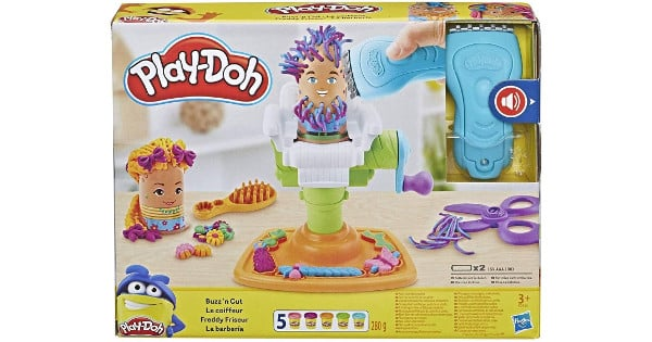 Barbería de Play-Doh barata, juguetes baratos, chollo