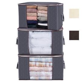 Bolsas para almacenar ropa Lifewit baratas, bolsas para ropa baratas, ofertas para casa