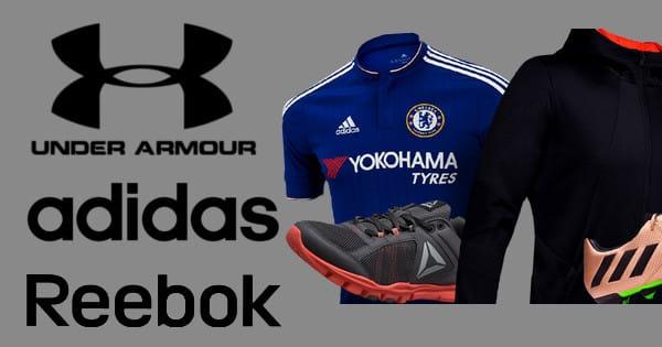 Chollos en Adidas, Under Armour y Reebok. Ofertas en material deportivo, material deportivo barato,chollo