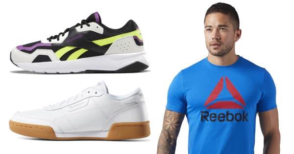 Cupon descuento outlet Reebok, ropa de marca barata, ofertas en calzado chollo