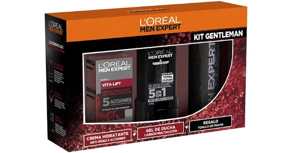 Estuche LOreal Men Expert Vitalift barato, cremas baratas, chollo