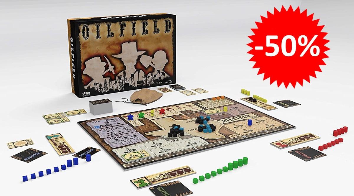 ¡Precio mínimo histórico! Juego de mesa Oilfield sólo 19.95 euros. 50% de descuento.