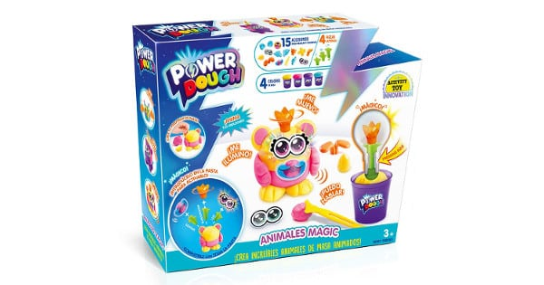 Kit de plastilina Power Dough Animales Mágicos barato, juguetes baratos, chollo