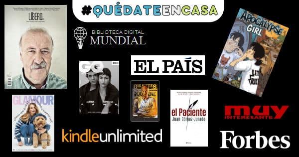 Lecturas gratuitas para la cuarentena, libros gratis, cómics gratis, chollo