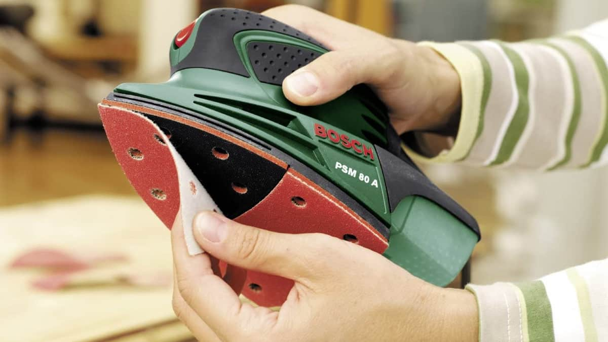 Lijadora Bosch PSM 80 A barata, herramientas baratas, chollo