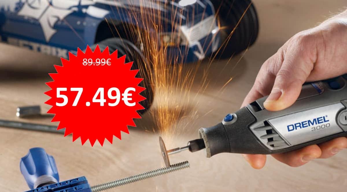 Multiherramienta Dremel 3000 barata. Ofertas en herramientas, herramientas baratas, chollo