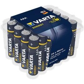 ¡¡Chollo!! Pack de 24 pilas Varta LR03/AAA sólo 7.59 euros. 50% de descuento.