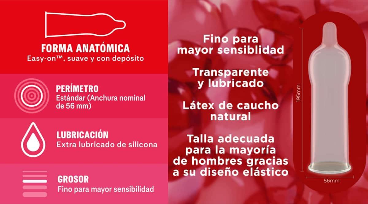 Pack de 24 preservativos Durex Sensitivo Suave barato. Ofertas en supermercado, chollo