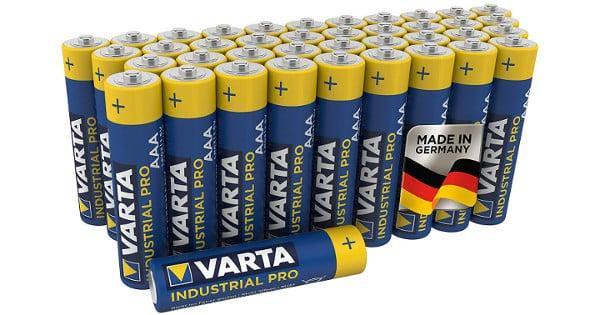Pack de 40 pilas Varta AAA barato, pilas baratas, chollo