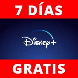Prueba Disney+ gratis durante 7 días