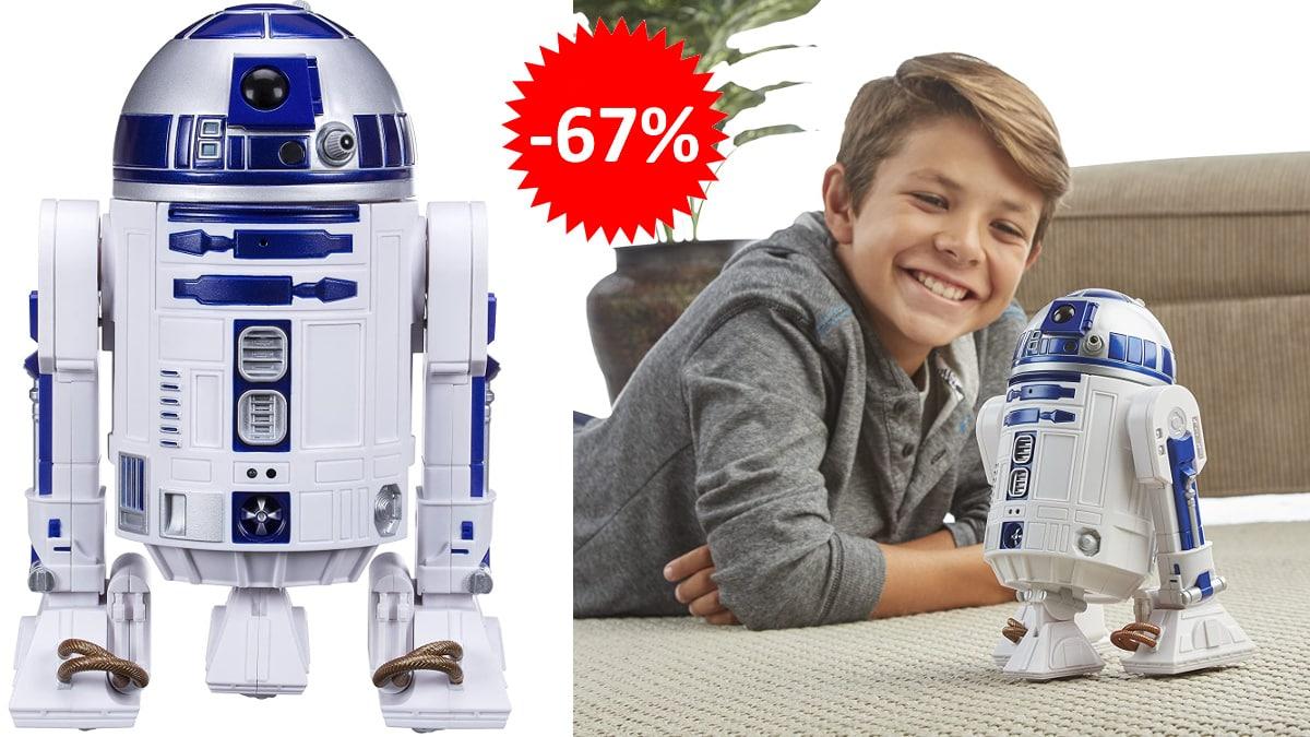 Star Wars R2D2 inteligente barato, juguetes baratos, ofertas para niños chollo