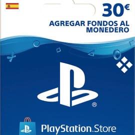 Tarjeta prepago PS Store de 30 euros