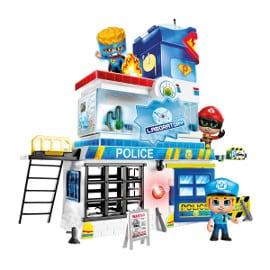 Trampas en la Comisaría de Pinypon Action barato, juguetes baratos