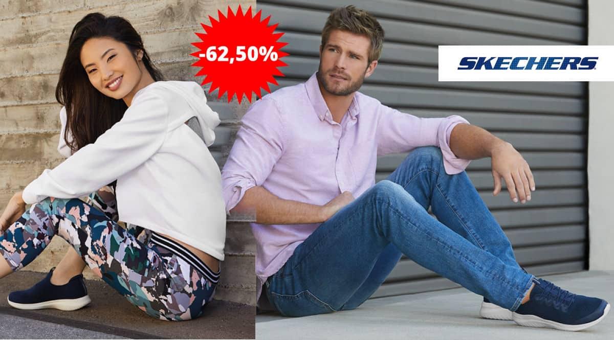 Zapatillas Skechers baratas, cupón descuento Skechers, zapatillas de marca baratas, chollo