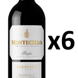 6 botellas de vino Rioja Montecillo Gran Reserva barato, vino barato