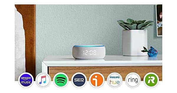 Altavoces inteligentes Amazon Echo baratos, ofertas en altavoces inteligentes, Amazon Echo barato, chollo