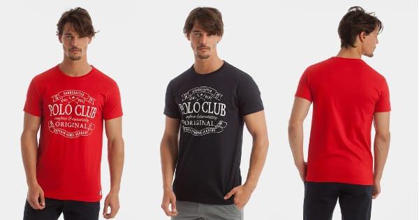 Camiseta Polo Club Classic Vintage arata, camisetas baratas, ofertas ropa, chollo