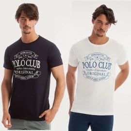 Camiseta Polo Club Classic Vintage barata, camisetas de marca baratas, ofertas en ropa
