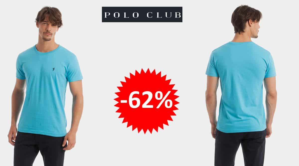 Camiseta básica Polo Club barata, camisetas de marca baratas, ofertas en ropa, chollo