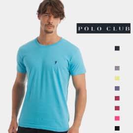 Camiseta básica Polo Club barata, camisetas de marca baratas, ofertas en ropa