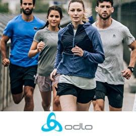 Campaña de Odlo en PSS. Ofertas en ropa y material deportivo, ropa y material deportivo baratos