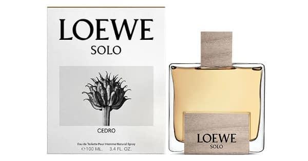 Colonia Solo Loewe Cedro barata, colonias baratas, ofertas para ti chollo