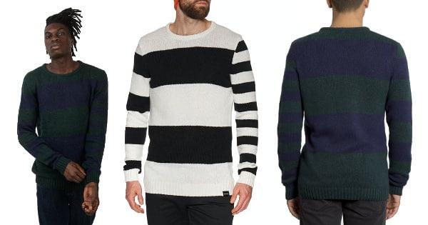 Jersey Volcom Edmonder Striped barato, ropa de marca barata, ofertas en jerseis chollo