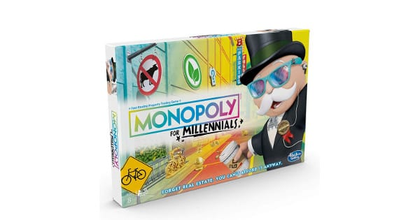 Juego de mesa Monopoly Millennials Edition barato, juegos de mesa baratos, chollo