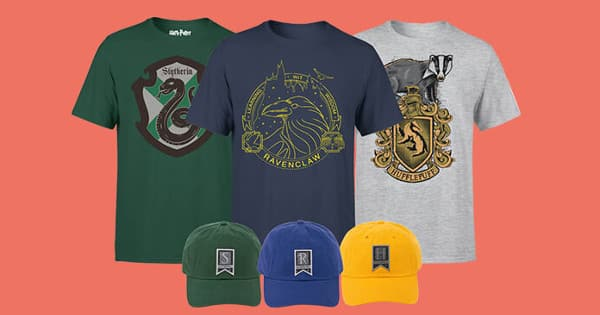 Pack camiseta + gorra de Harry Potter, ropa de marca barata, chollo
