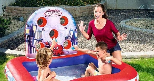 Piscina hinchable Bestway Spiderman 98016 barata, ofertas en piscinas hinchables, piscinas hinchables baratas, chollo