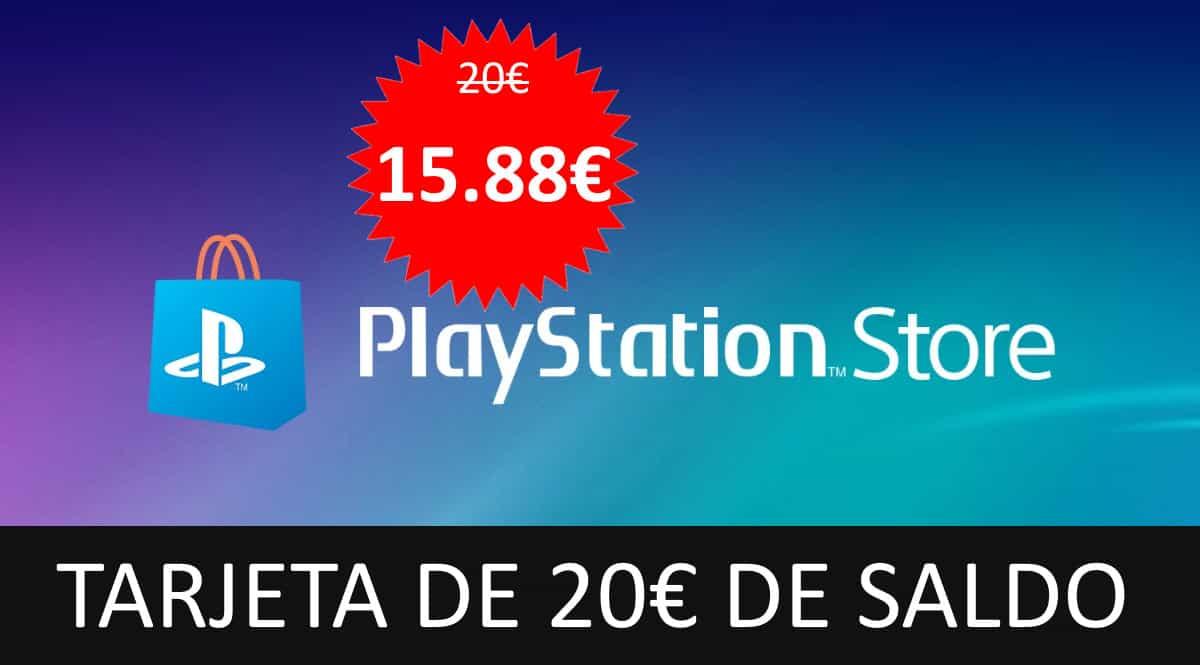 Tarjeta prepago PSN 20 euros barata. Ofertas en tarjetas prepago, tarjetas prepago baratas, chollo