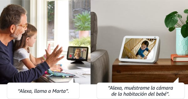 Altavoz Amazon Echo Show 8 barato. Ofertas en altavoces, altavoces baratos, chollo