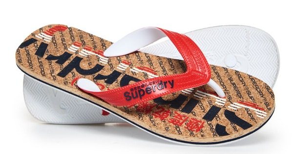 Chanclas Superdry Cork Colour Pop baratas, calzado barato, ofertas calzado, chollo