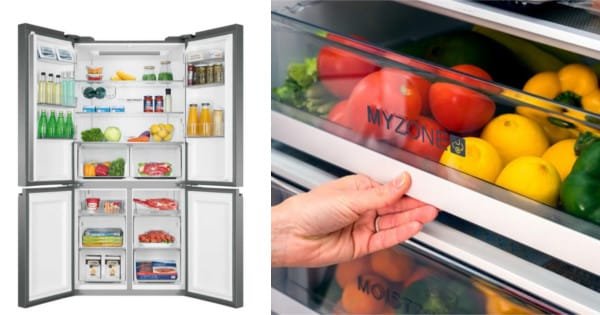 Frigorífico Haier americano HTF540DGG7 barato. Ofertas en frigoríficos, frigoríficos baratos, chollo