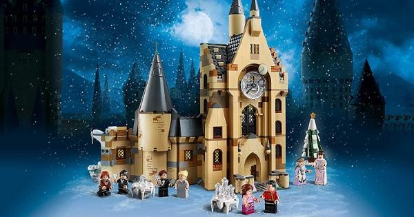 LEGO Harry Potter Torre del Reloj de Hogwarts barato, juguetes baratos, ofertas para niños chollo