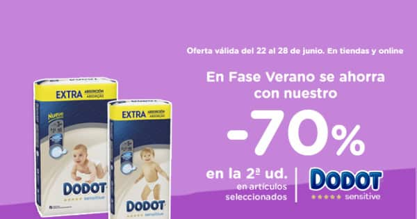 Pañales Dodot Sensitive baratos, pañales baratos ofertas en supermercado, chollo