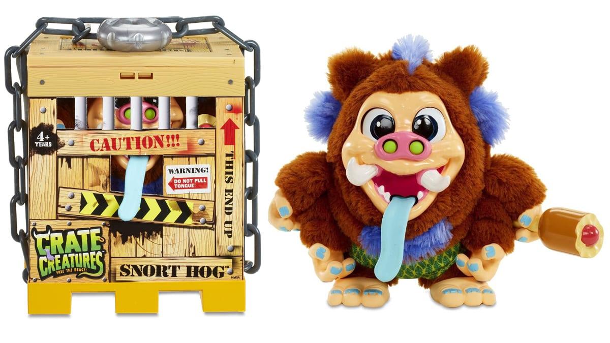 Peluche interactivo Crate Creatures Libera a la Bestia barato, juguetes baratos, ofertas en regalos de navidad chollo
