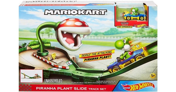 Pista Mario Bros Piraña Hot Wheels barata, juguetes baratos, chollo