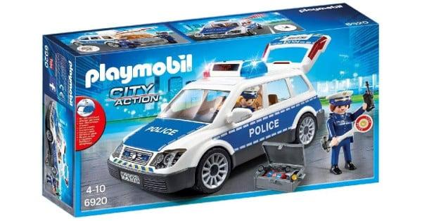 Playmobil City Action Coche de Policía con Luces y Sonido barato, juguetes baratos, chollo