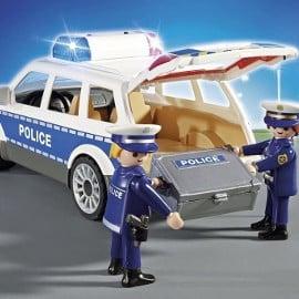 Playmobil City Action Coche de Policía con Luces y Sonido barato, juguetes baratos