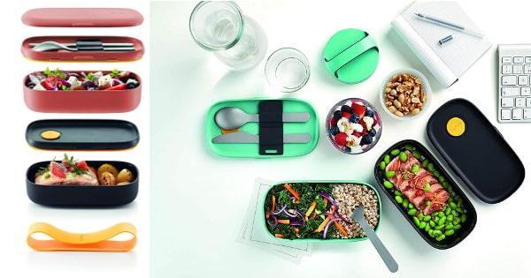 Recipiente hermético para comida Lékué LunchBox To Go barato, recipientes baratos, ofertas cocina, chollo